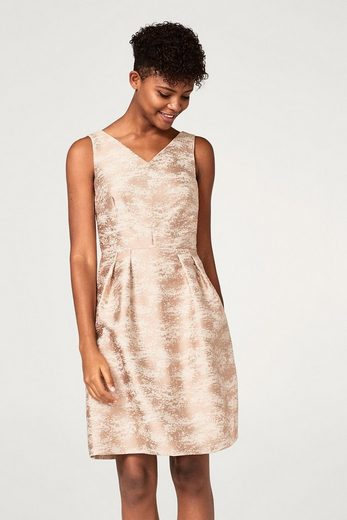 ESPRIT COLLECTION Strukturiertes Jacquard-Kleid