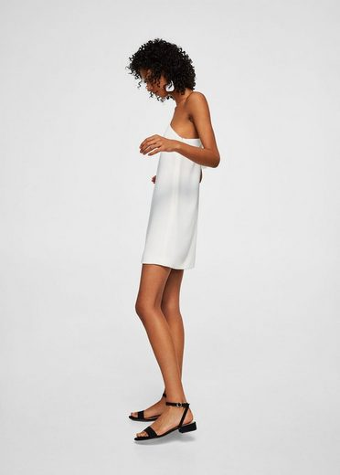 MANGO Kleid mit asymmetrischen Ärmeln