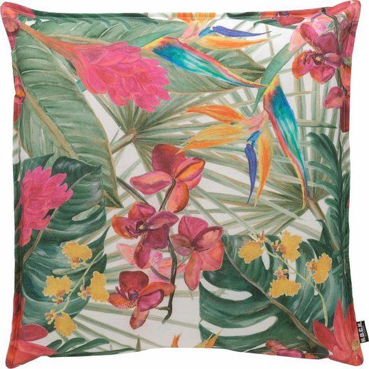 H.O.C.K. Dekokissen »Beach Life«, im floralen Muster