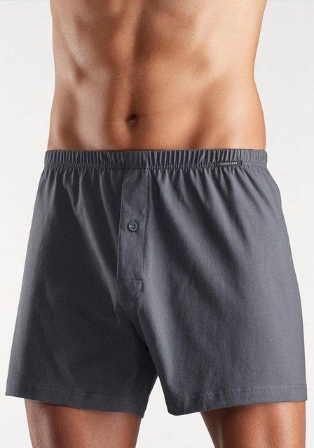 schiesser -  Weite Single Jersey Boxershorts
