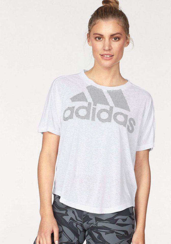 adidas Performance Funktionsshirt »MAGIC LOGO TEE«   Bekleidung > Shirts > Funktionsshirts   Weiß   adidas Performance