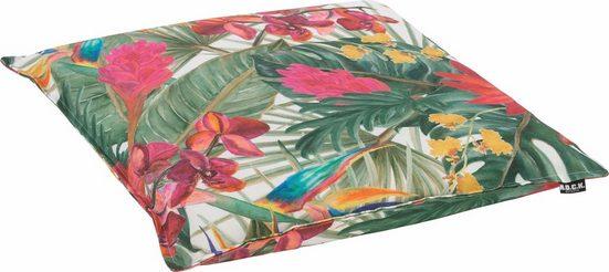 H.O.C.K. Sitzkissen »Beach Life«, mit tropischem Muster