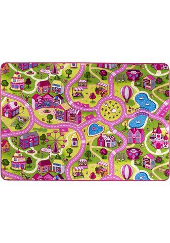 ANDIAMO Vaikiškas kilimas »Sweet Village« rech...