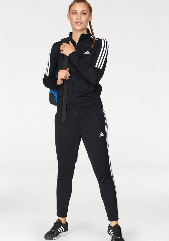 release info on outlet on sale fashion style adidas Performance Trainingsanzug, Logodruck online kaufen | OTTO