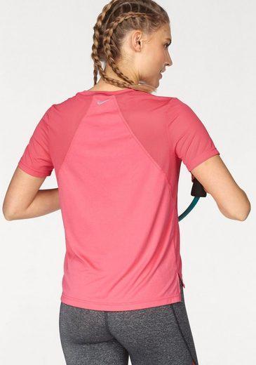 Nike Laufshirt MILER TOP SHORTSLEEVE