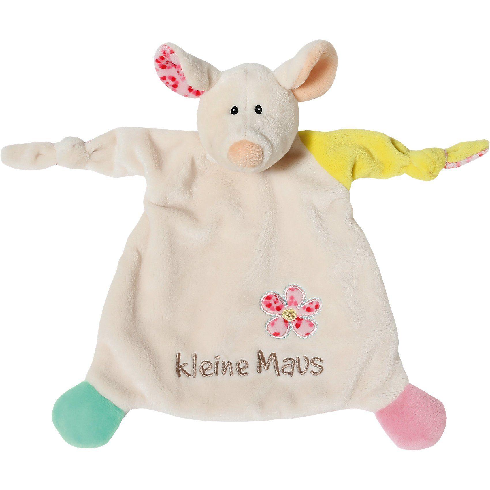 """NICI Schmusetuch Maus """"kleine Maus"""" 25x25cm"""