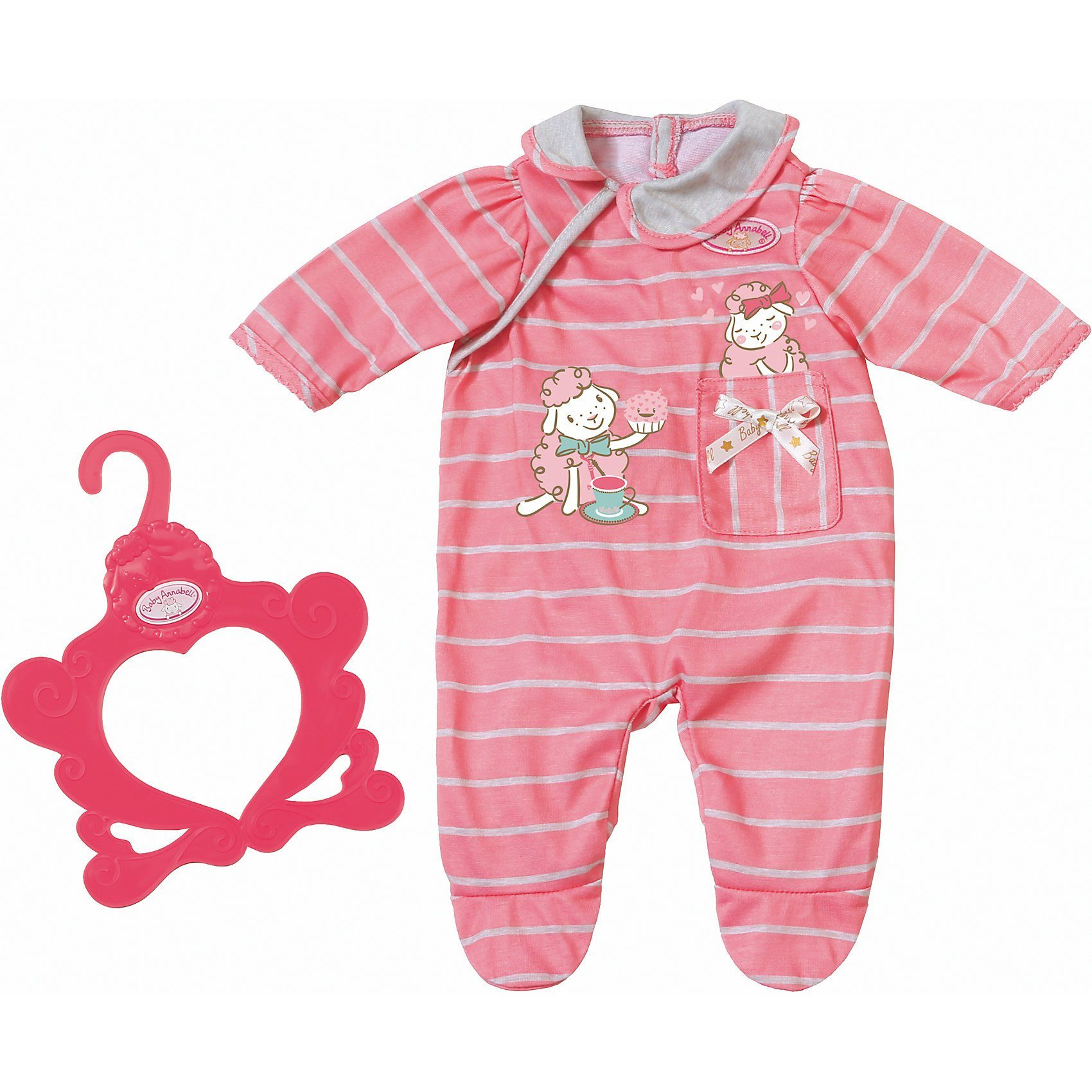 Zapf Creation® Baby Annabell® Strampler pink
