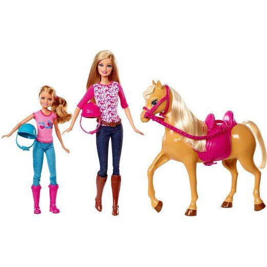 Mattel® Barbie Schwesternzeit Reitunterricht Spielset