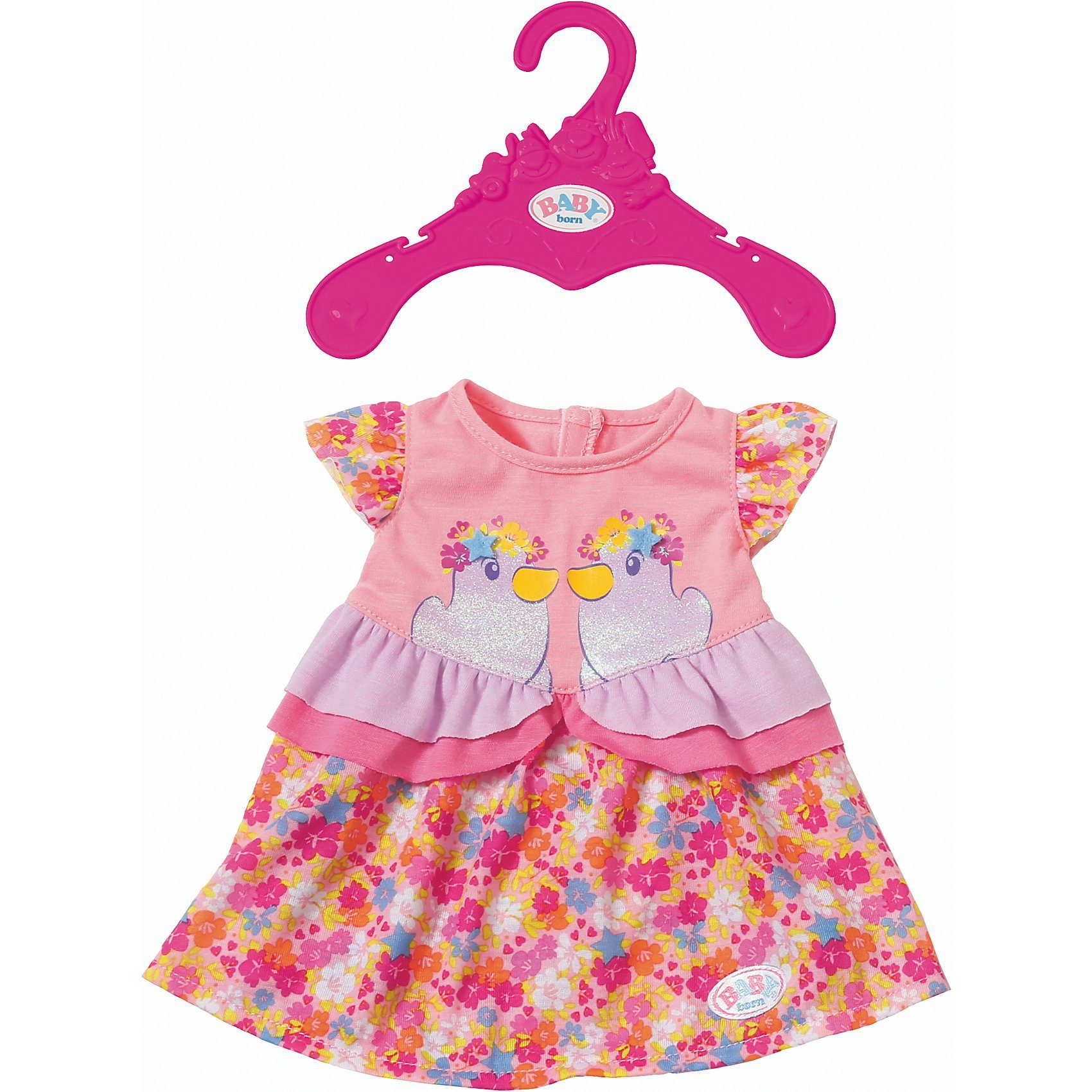 Zapf Creation® BABY born® Kleider Kollektion Gemustert