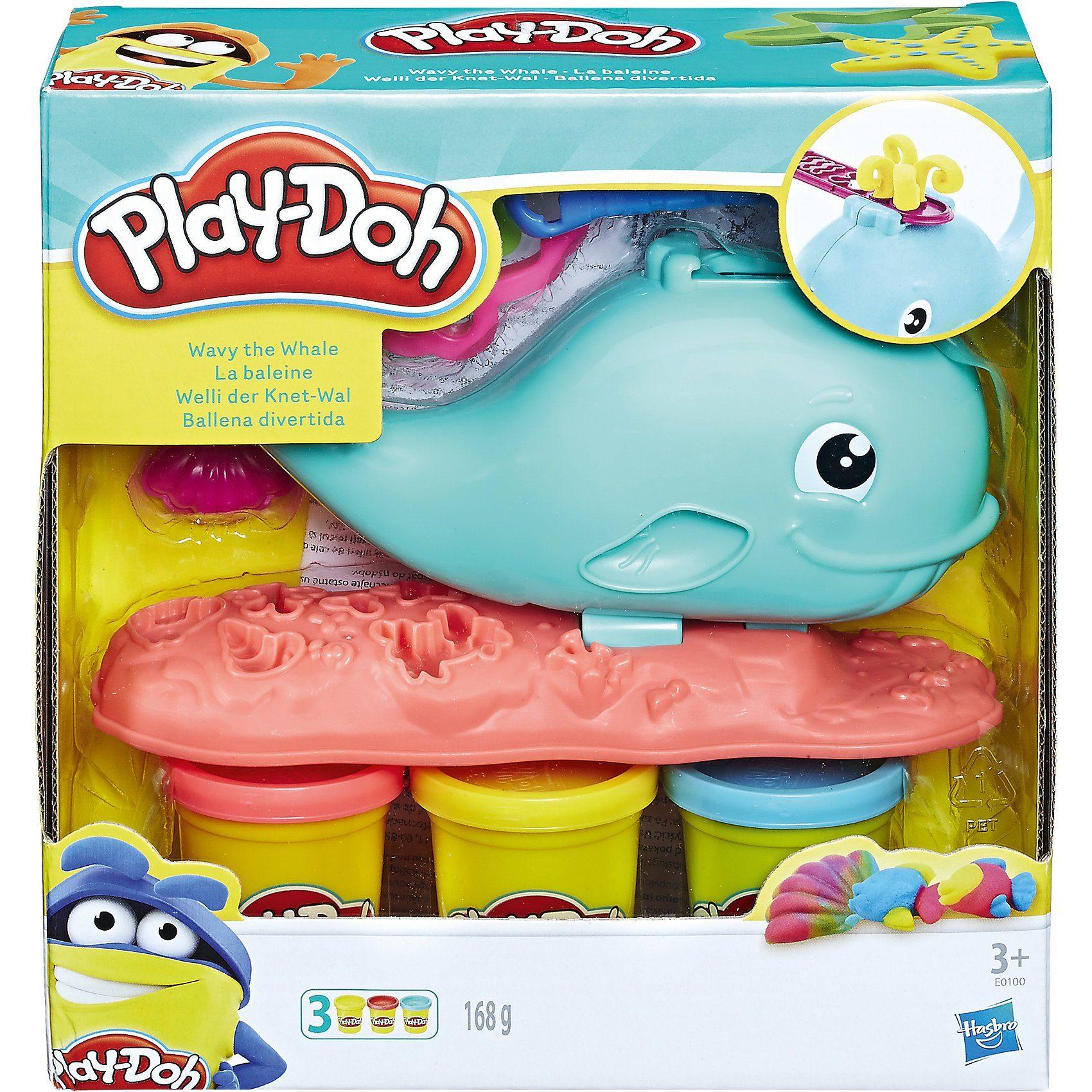Hasbro Play-Doh Welli der Knet-Wal