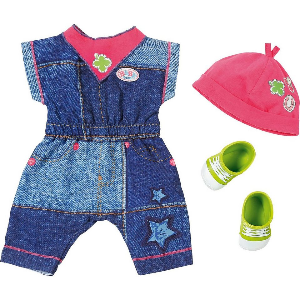 Zapf Creation® BABY born® Deluxe Jeans Collection Jumpsuit online kaufen
