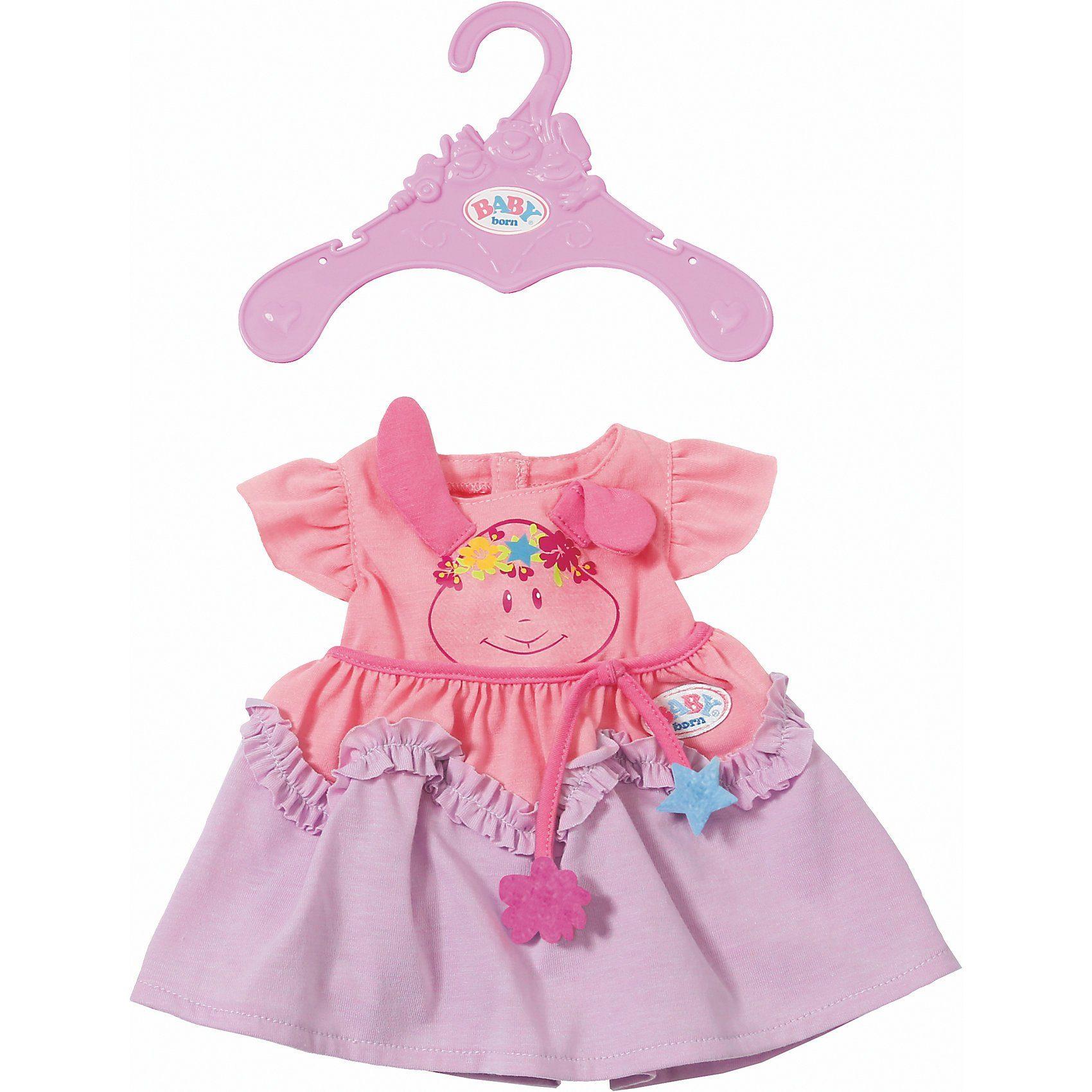 Zapf Creation® BABY born® Kleider Kollektion Lila