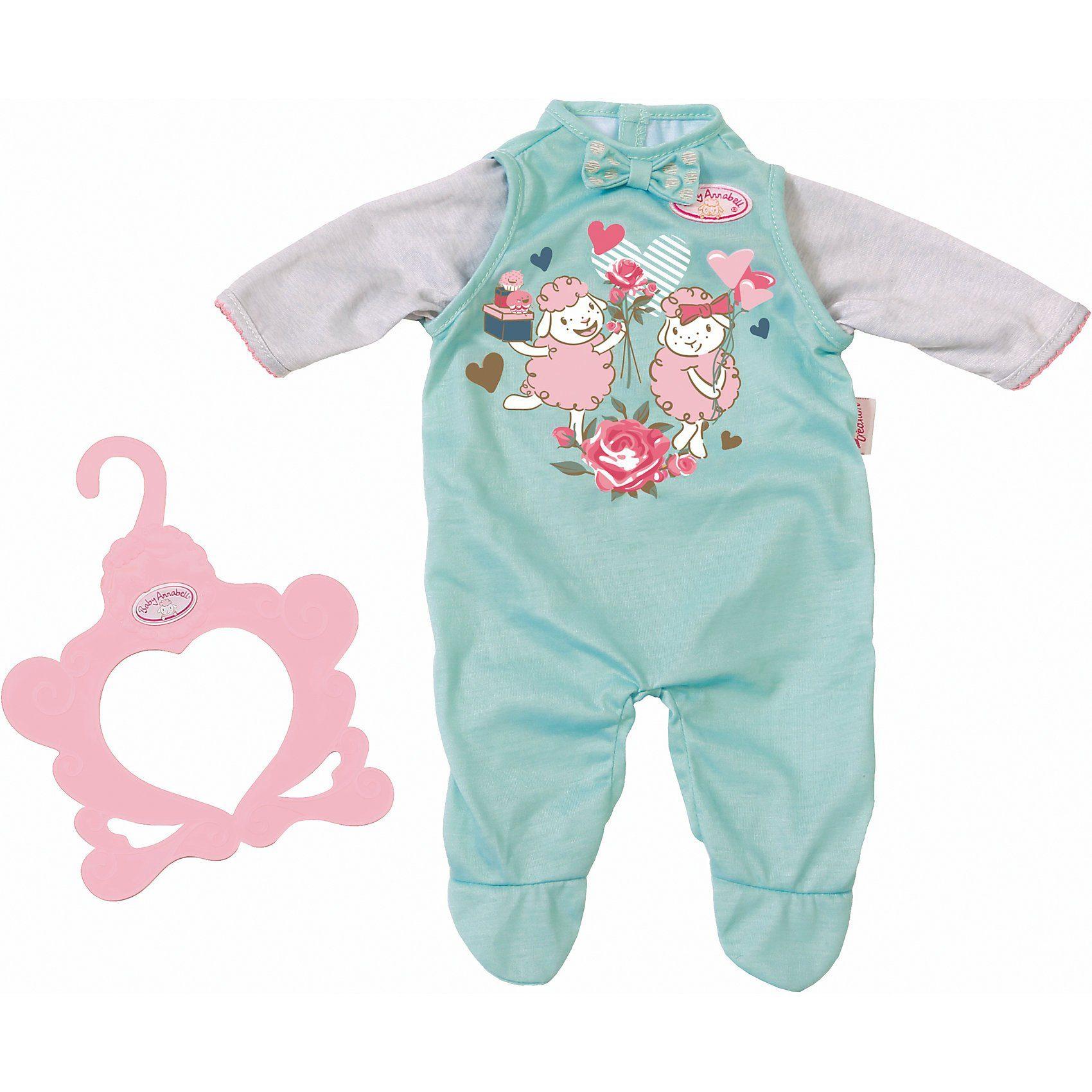 Zapf Creation® Baby Annabell® Strampler blau