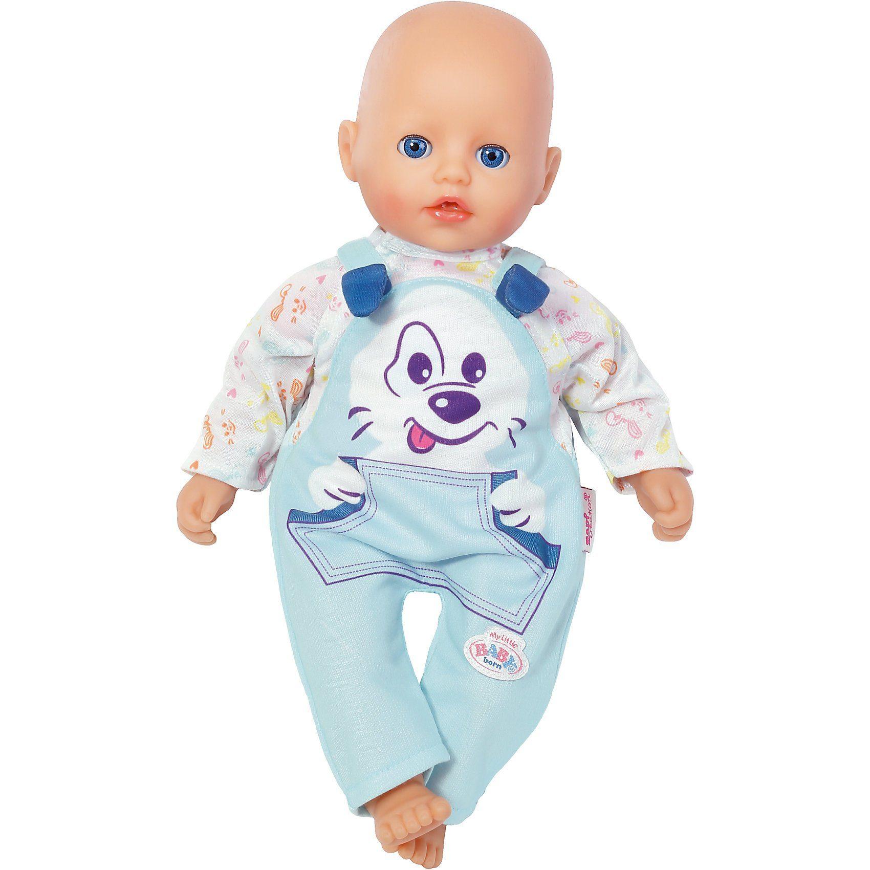 Zapf Creation® My Little BABY born® Kleidung Blau