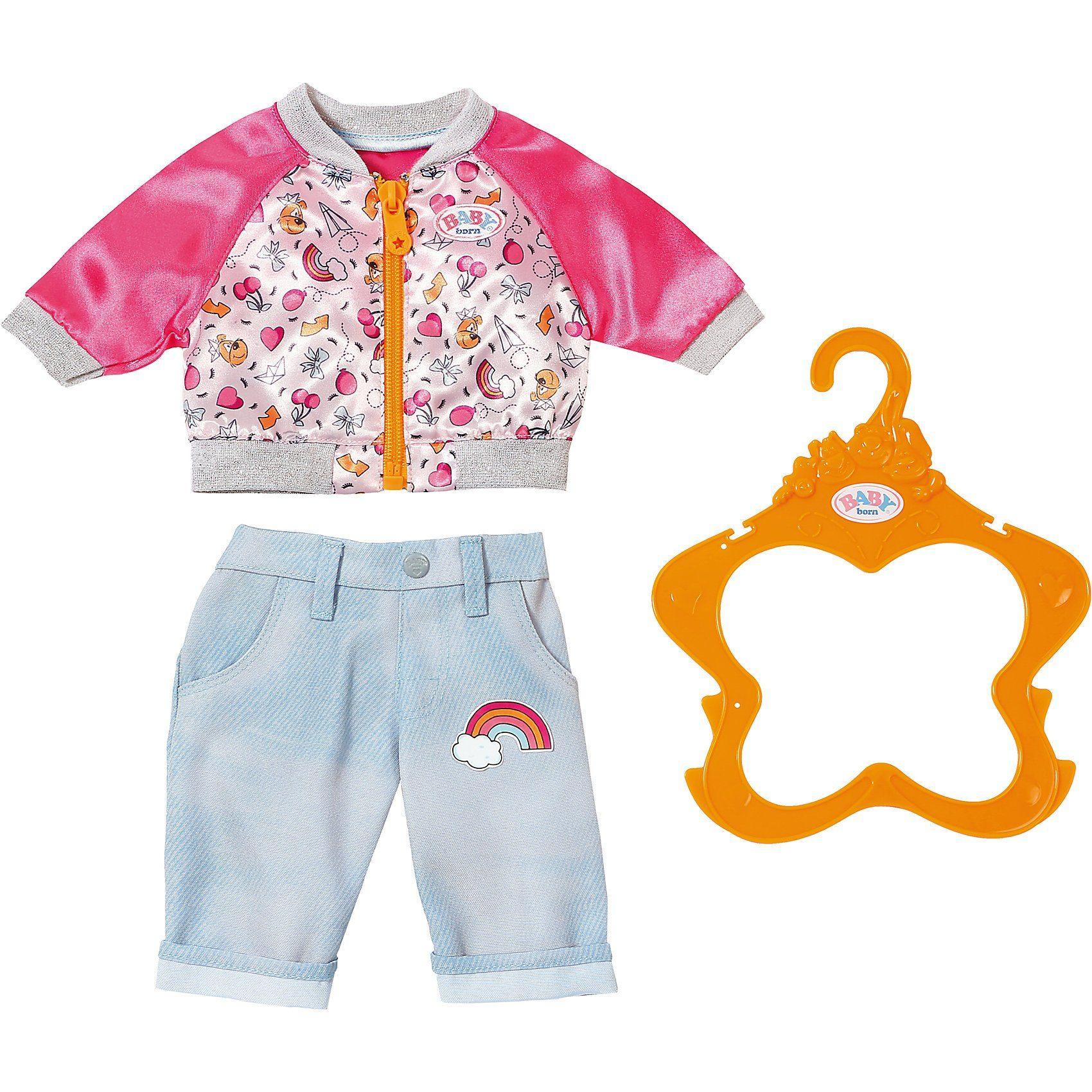 Puppen & Zubehör Kleidung & Accessoires BABY born® Strampler Kollektion Zapf Puppenbekleidung Größe 43