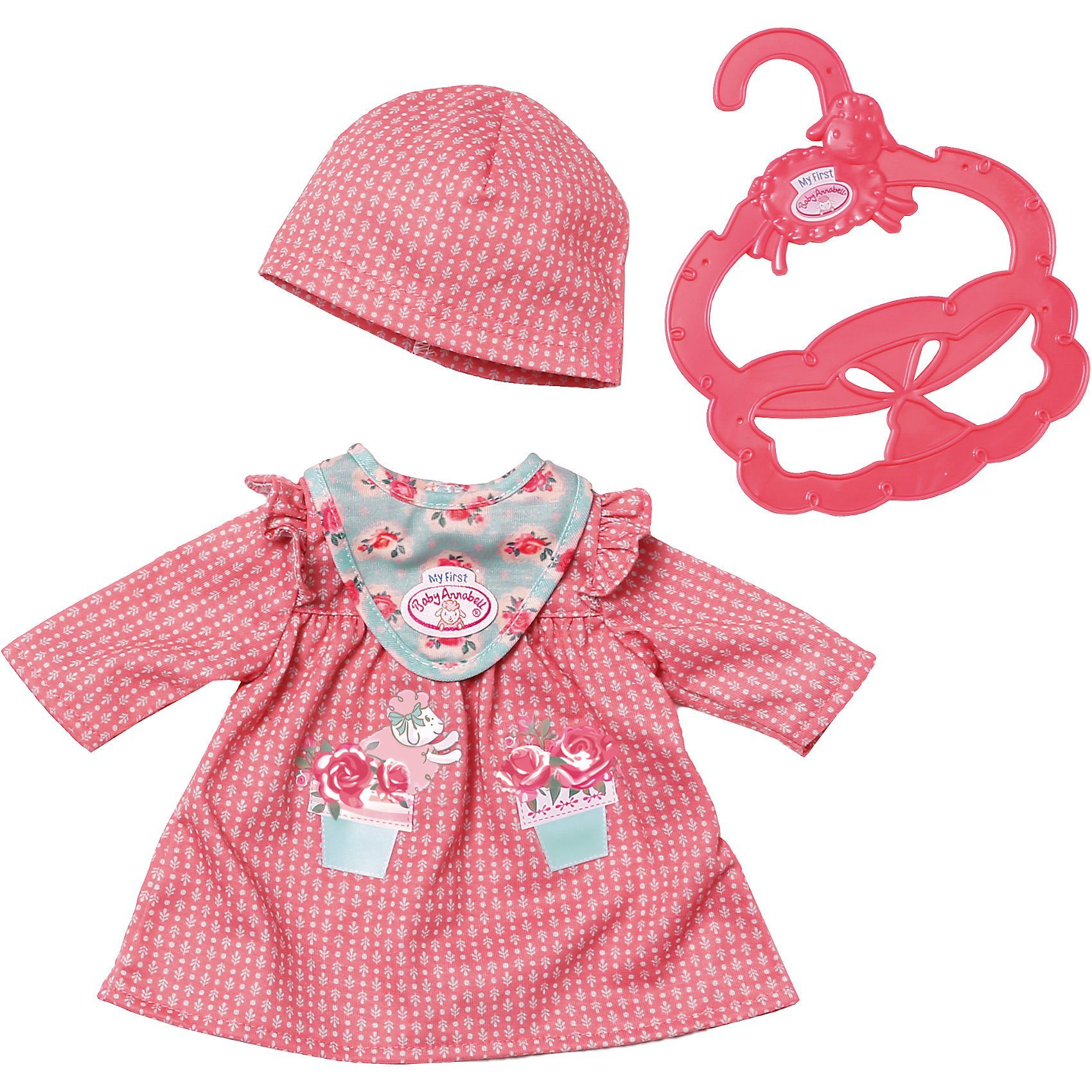 Zapf Creation® My First Baby Annabell® Kuschel-Outfit pink