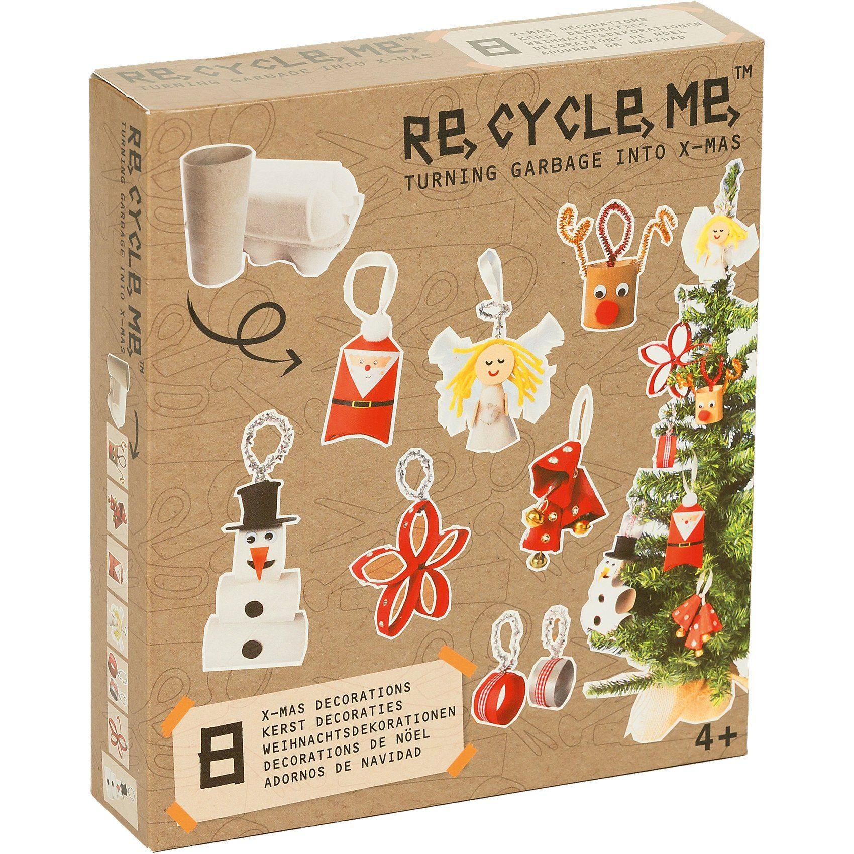 Re-Cycle-Me Bastelspaß Weihnachten - Kunst aus Abfall
