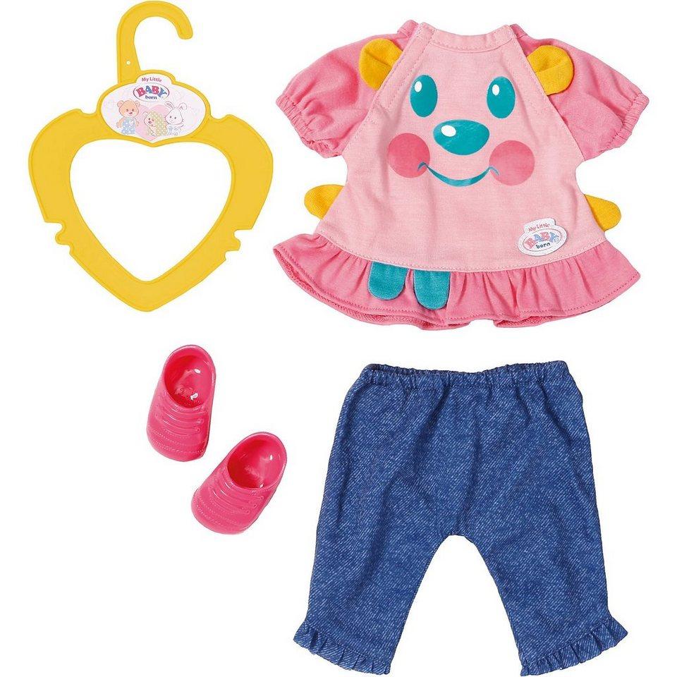 Zapf Creation® My Little BABY born® Schöne Kleidung T-Shirt und Jeans online kaufen