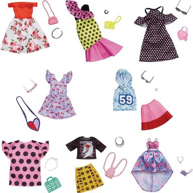 Mattel® Barbie Fashions Komplettes Outfit Sortiment