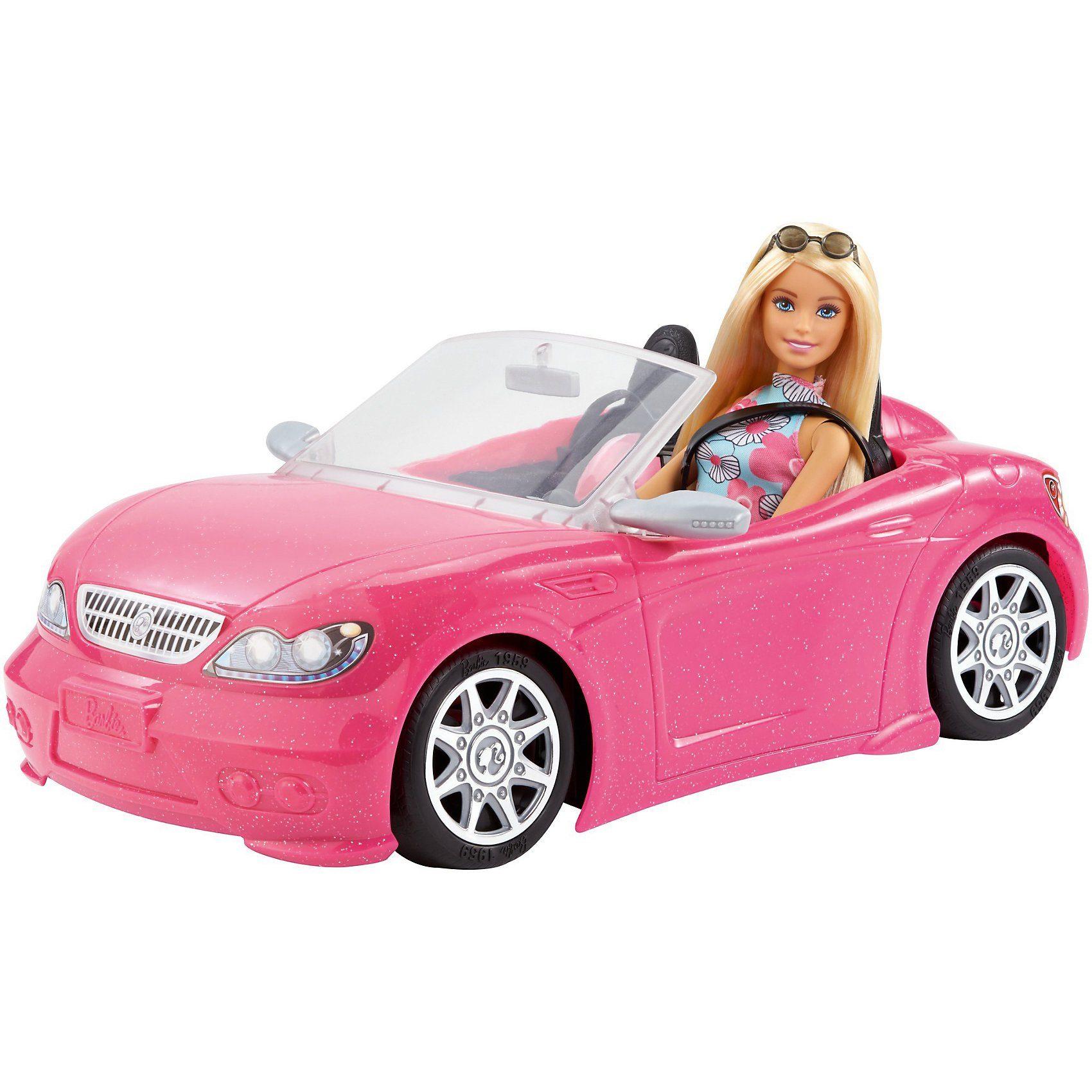 Mattel® Barbie Glam Cabrio und Puppe