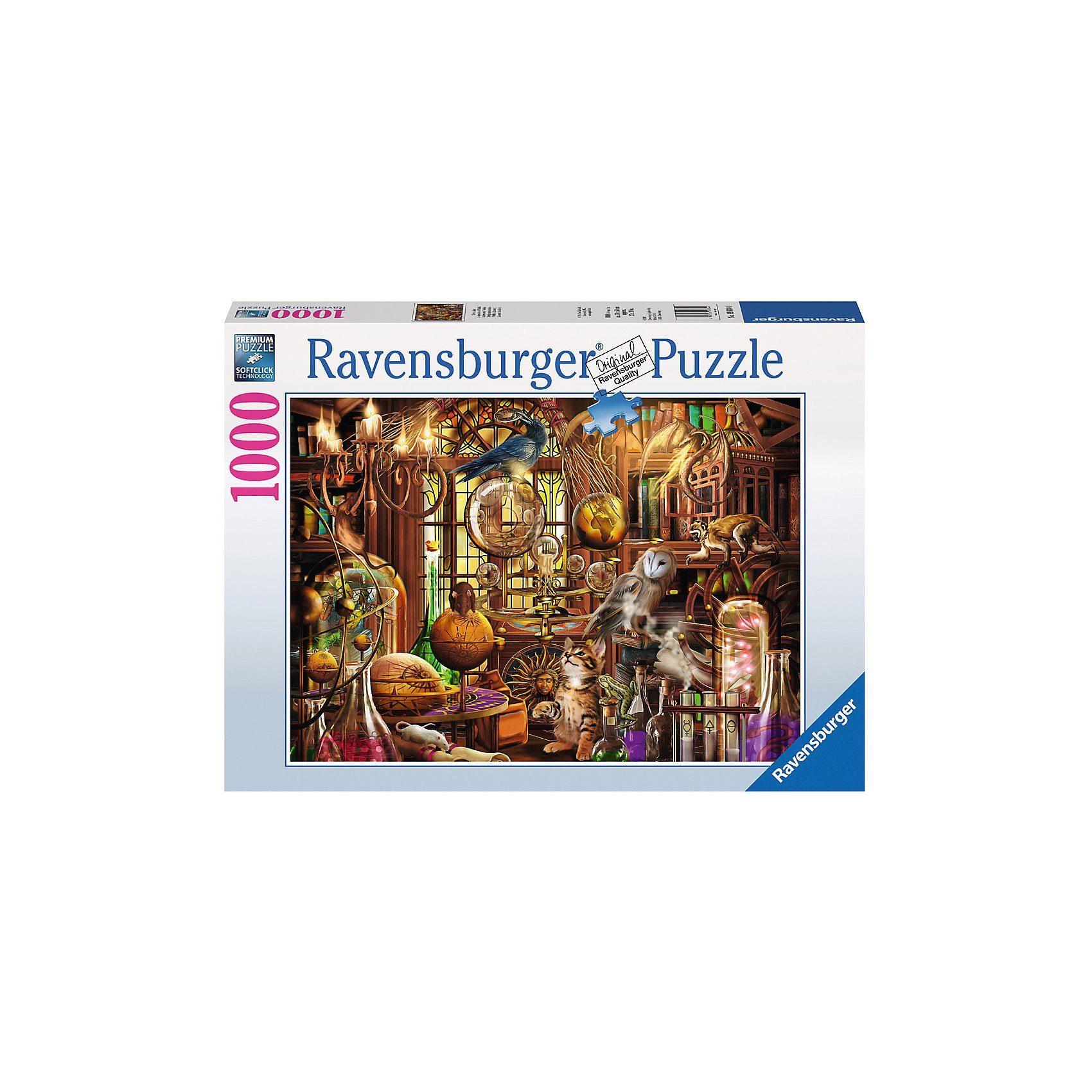 Ravensburger Puzzle 1000 Teile, 70x50 cm, Merlins Labor