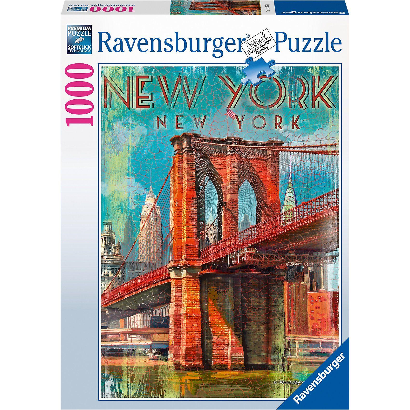 Ravensburger Puzzle 1000 Teile Retro New York