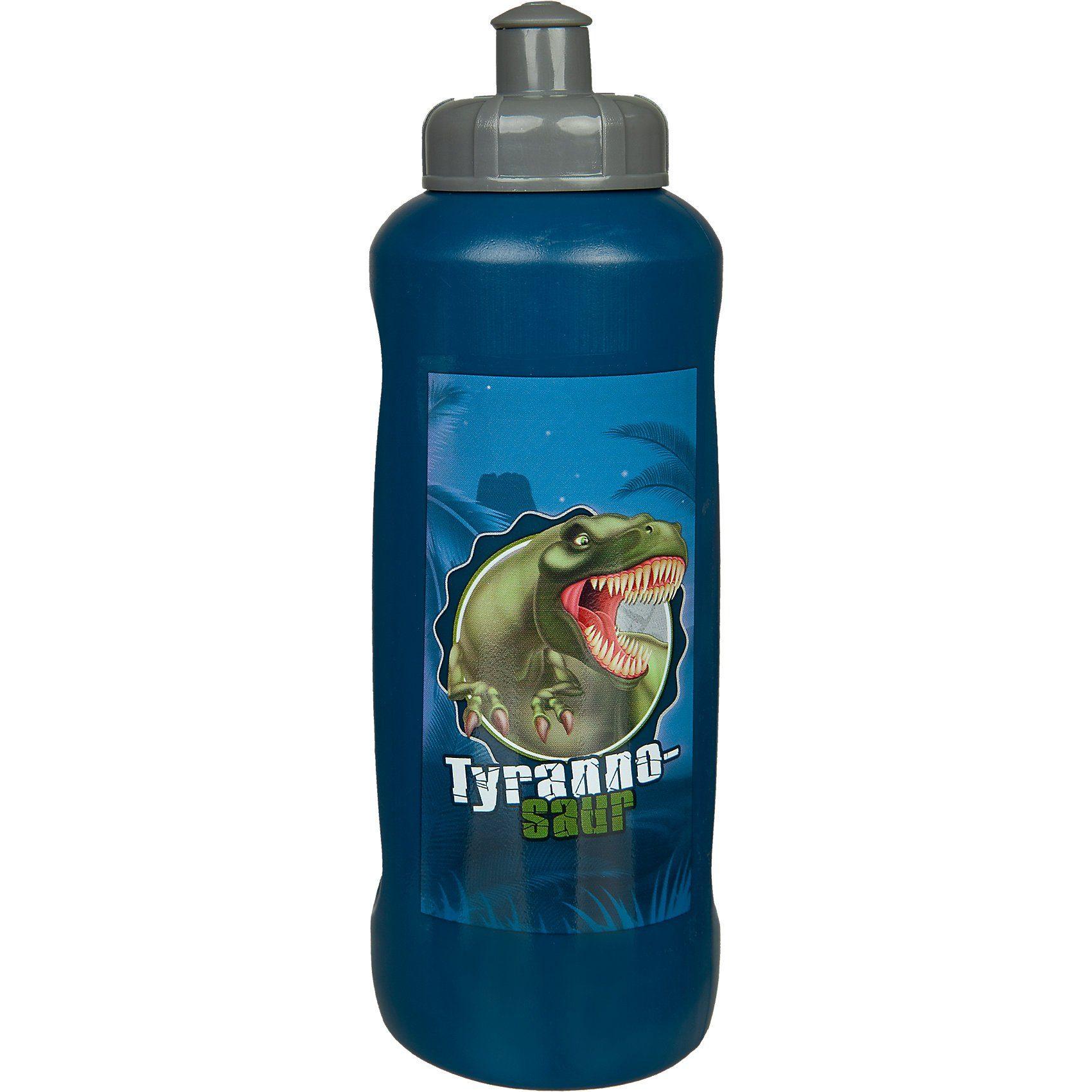 SCOOLI Trinkflasche Dinosaur Life, 450 ml