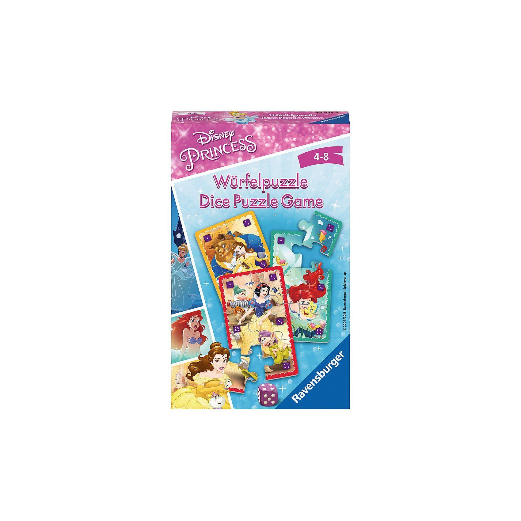 Ravensburger Disney Princess: Würfelpuzzle