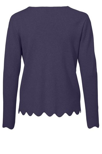 Via Appia Sweet Fine Sweater With Button