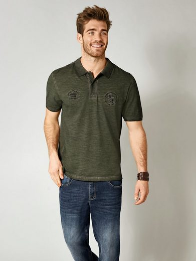 Men Plus by Happy Size Poloshirt cool dyed