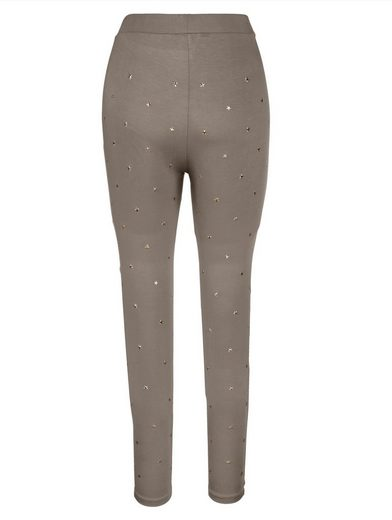 Paola Leggings mit Nieten in Sternform