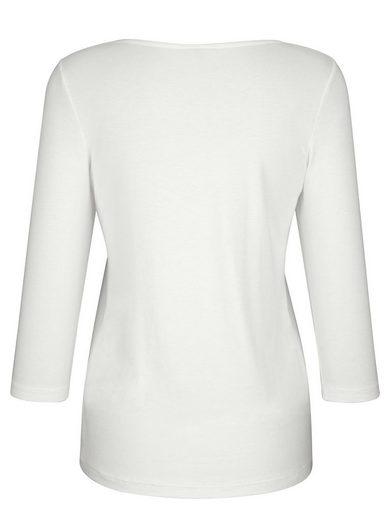 Dress In Shirt mit sommerlichem Druck