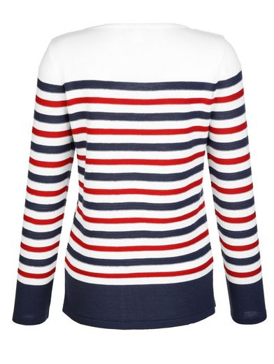 Dress In Pullover mit Spitzenapplikation