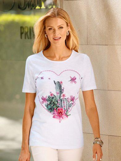 Dress In Shirt mit Kaktus Druck