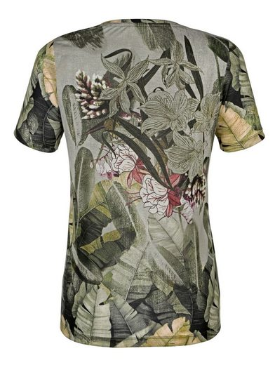 Paola Shirt mit floralem Druck