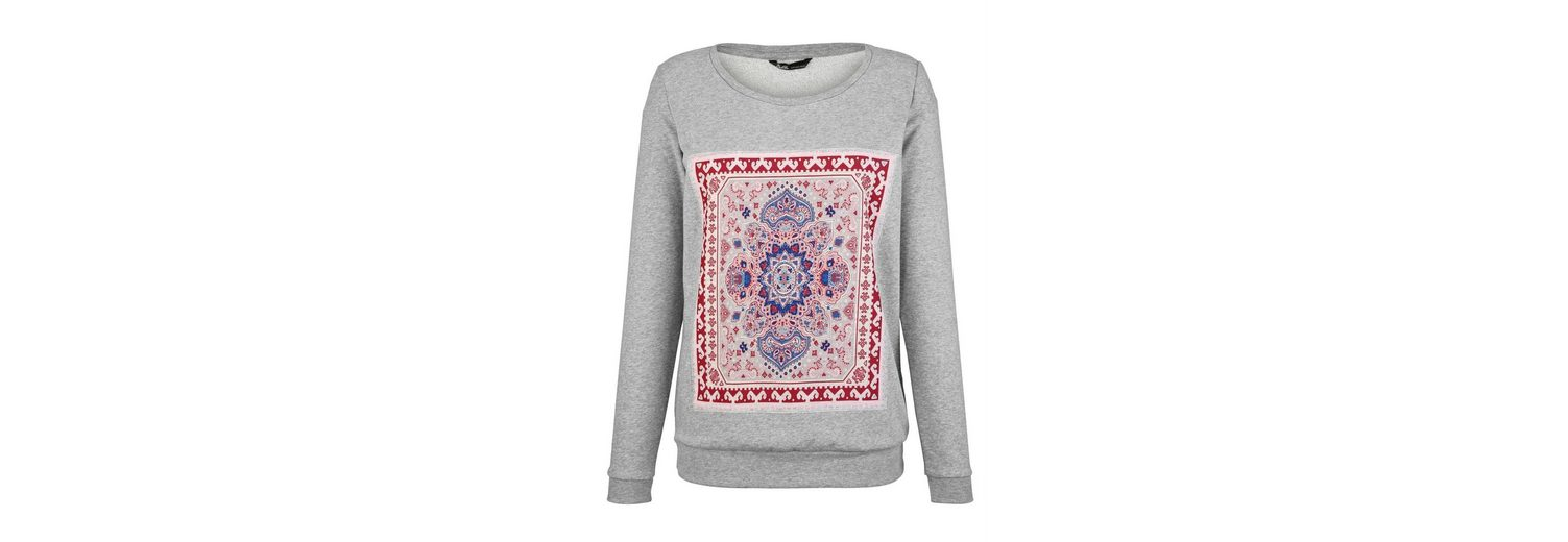 Authentische Online  Wie Viel Paola Sweatshirt mit Mandala-Motiv C3bITFbAFz