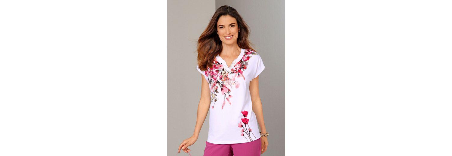 Mode Günstig Online Billig Zu Verkaufen Paola Shirt mit floralem Druck Viele Arten Von Günstiger Online WHKWdePuA6