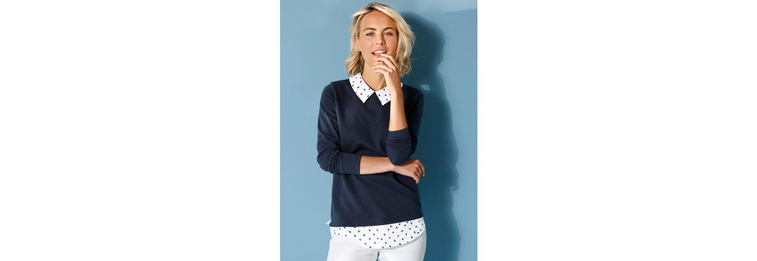 Dress In Sweatshirt mit Webeinsatz Sneakernews Verkauf Online Top-Qualität Günstig Online brokc