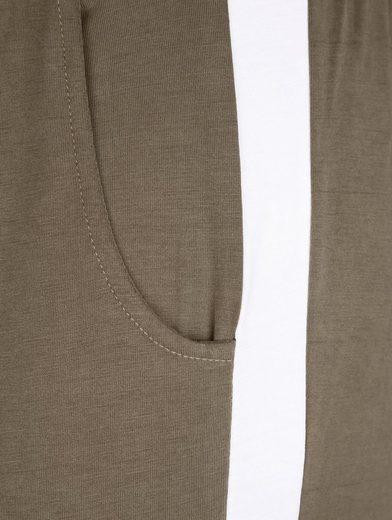 Dress In Jerseyhose mit kontrastfarbenem Einsatz