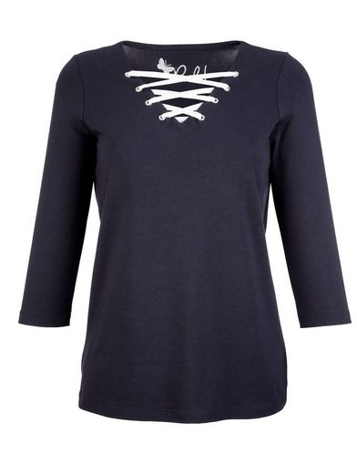 Paola Shirt mit Schnürung