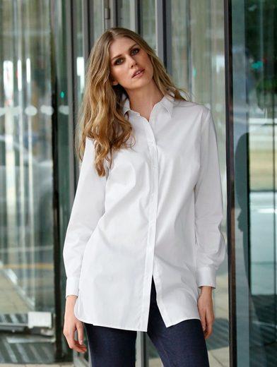 Dress In Bluse mit Seitenschlitzen