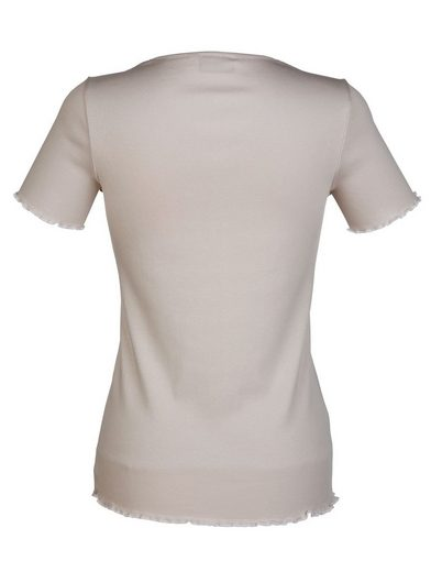 Dress In Shirt mit Rollsaum