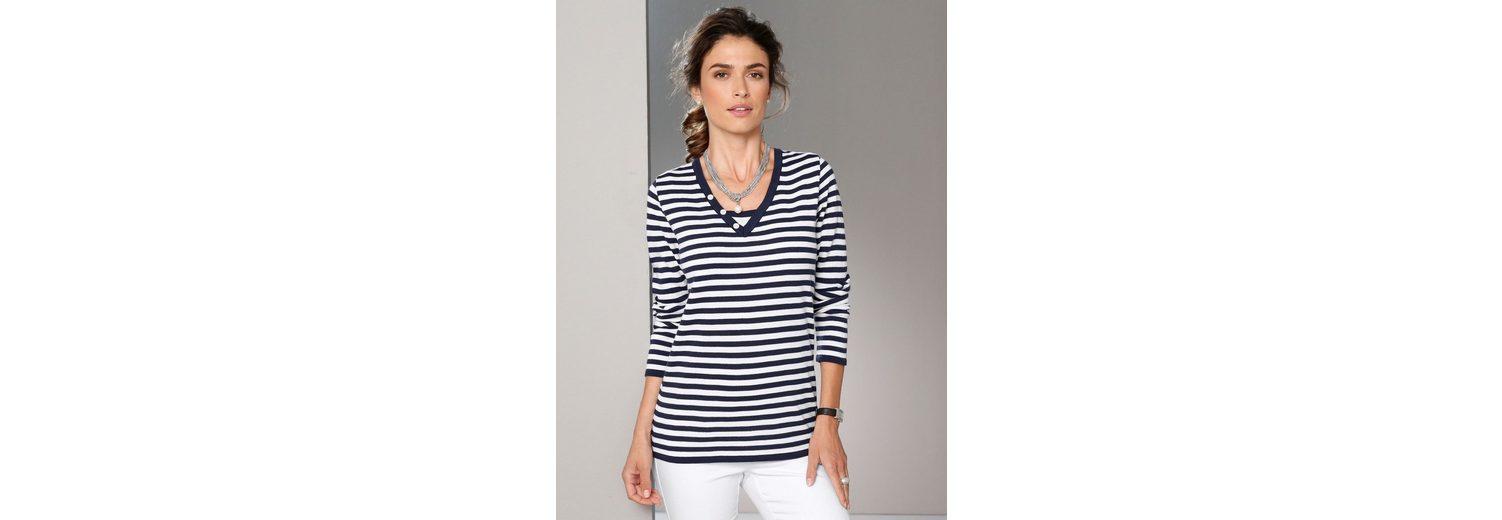 Rabatt Authentische Online Einkaufen Paola Pullover mit Knöpfen am Ausschnitt Verkauf Limitierter Auflage CsY0syzD1