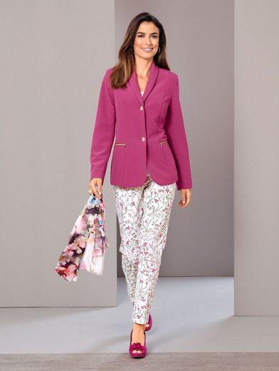 Paola Hose mit floralem Muster