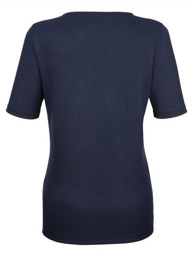 Dress In Shirt mit silberfarbenen Details