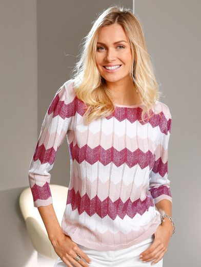 Paola Pullover With Wavy Pattern