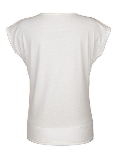 Paola Shirt mit Strasssteinen