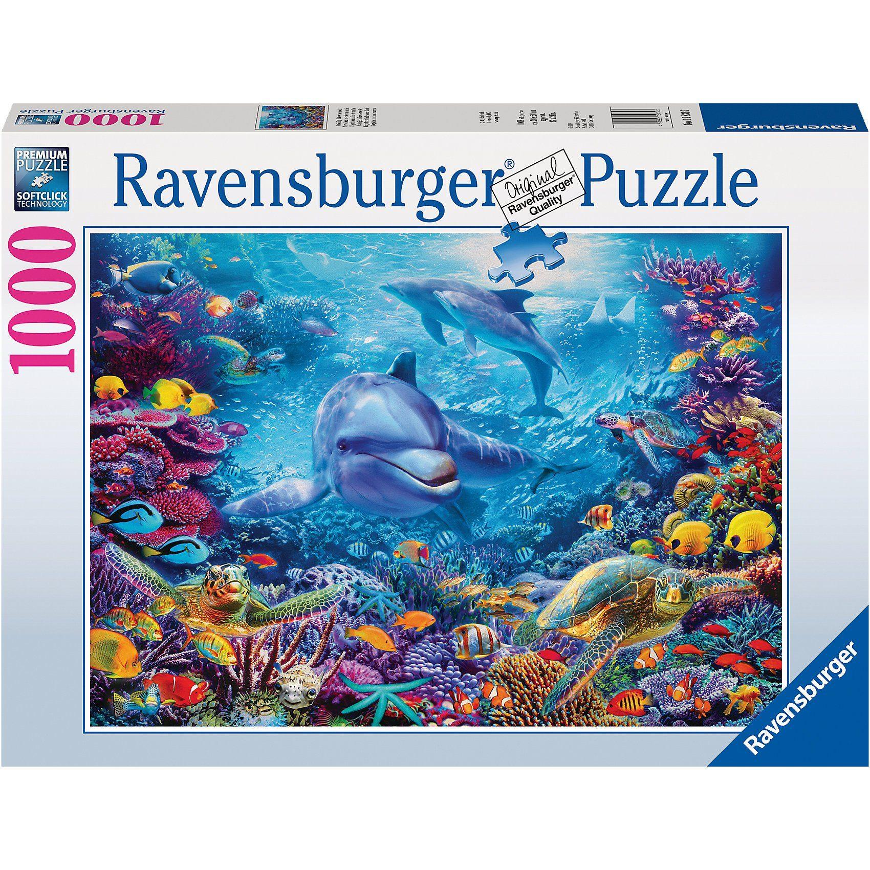 Ravensburger Puzzle 1000 Teile Prächtige Unterwasserwelt