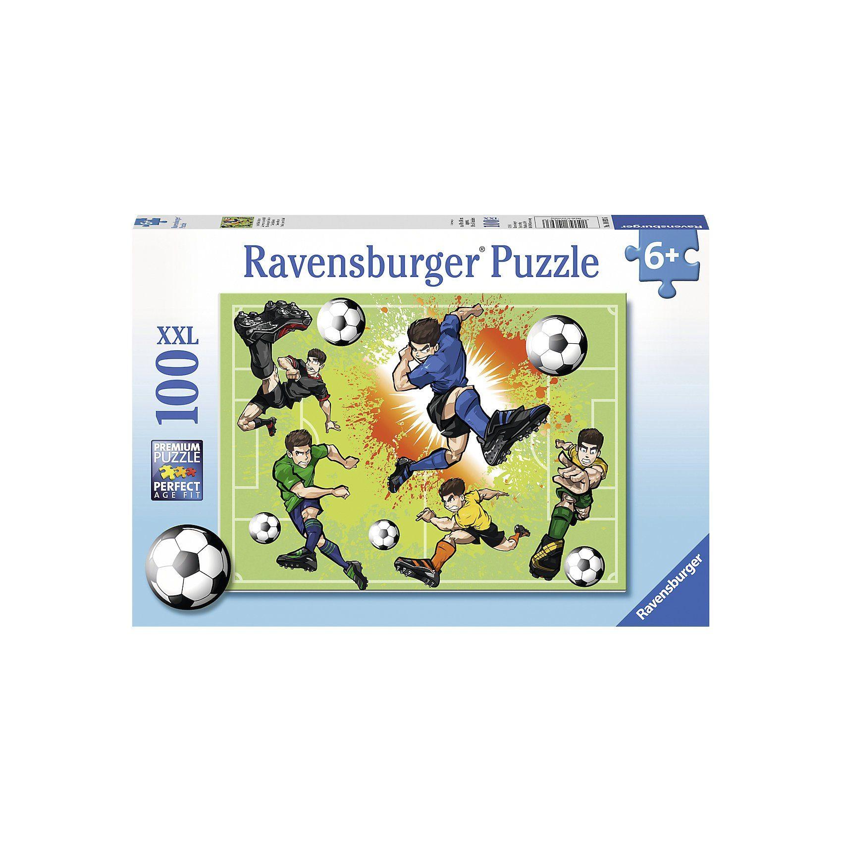 Ravensburger Puzzle 100 Teile Im Fußballfieber