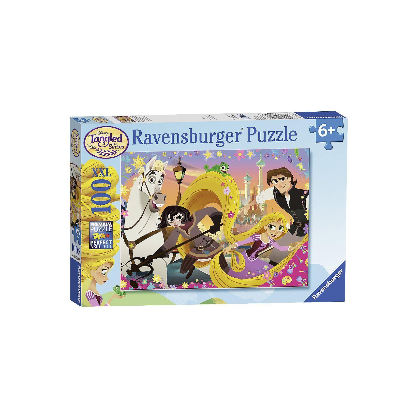 Ravensburger Puzzle 100 Teile Disney Rapunzels neue Abenteuer
